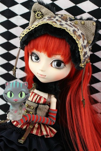Pullip Cheshire Cat in Steampunkworld