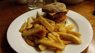 GF Chicken Burger at Cornish Arms