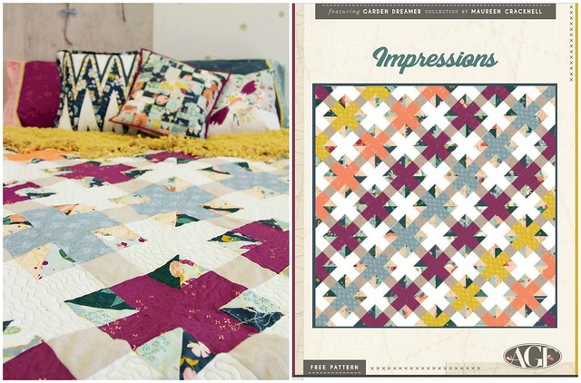 Impressions Quilt Pattern