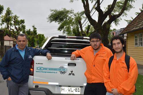 Estudiantes de CAU en Chillán