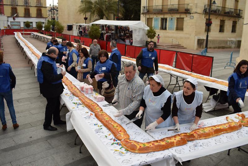Roscón de Reyes 2017 PROYECTO HELENA