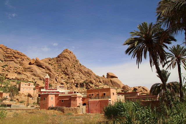 Village near Tafraoute