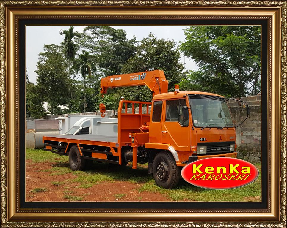 Karoseri Truck Crane - 8e12