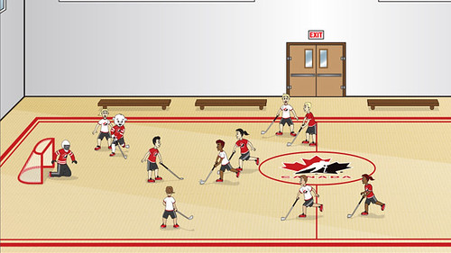puckster_friends_floorball_in_gym_640