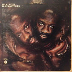 ISAAC HAYES:...TO BE CONTINUED(JACKET B)