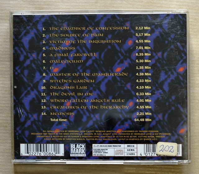 MORGANA LEFAY MALEFICIUM (CD)