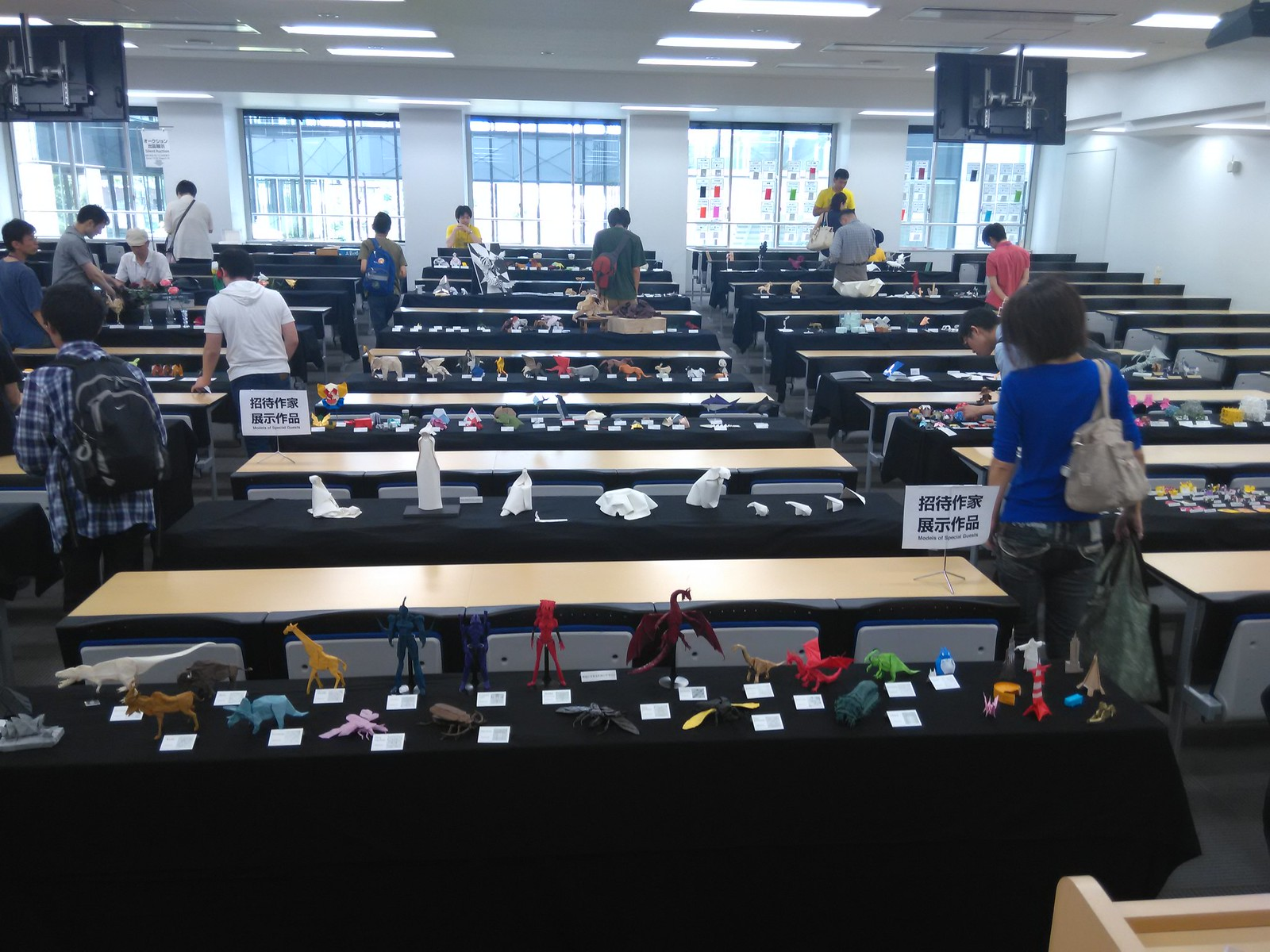 Origami Tanteidan Convention - My Table