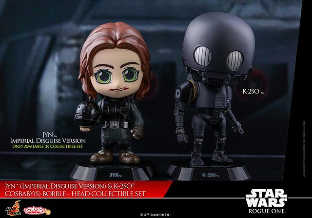 Jan & K-2SO Cosbaby Set by Hot Toys