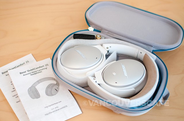 Bose QuietComfort 25 Headphones/unboxing