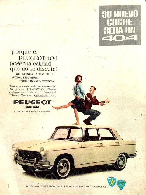 Peugeot 404, Argentina - Mecánica Popular
