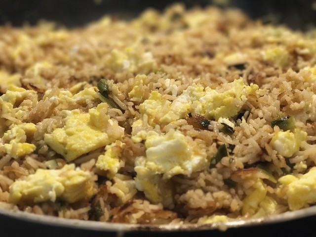 Fried Rice and Scrambled Eggs