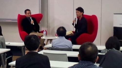 俣野成敏さんのプロ研トークライブに登壇