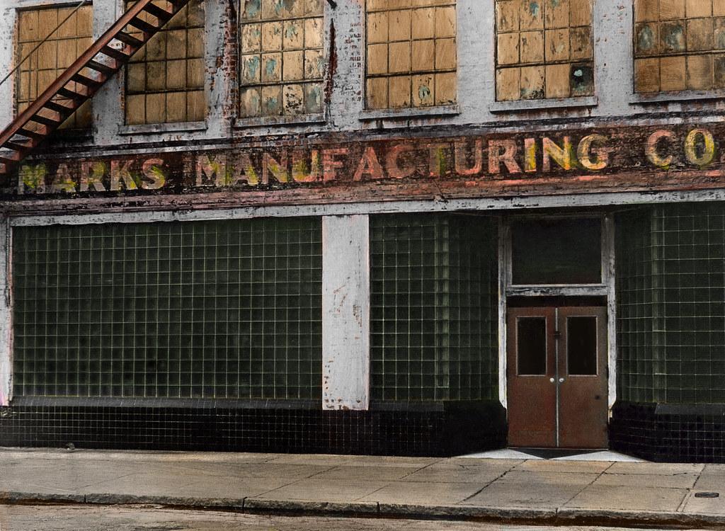 Marks Manufacturing, Augusta, Ga. 1970s