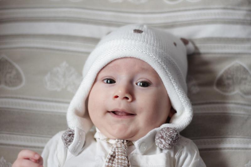 Vestiti d'inverno cappellino prenatal