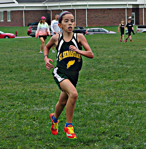 Rosie at Tallmadge Meet