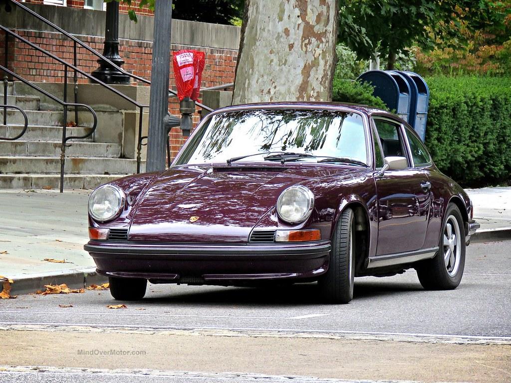 Purple Porsche 911E Scarsdale 1