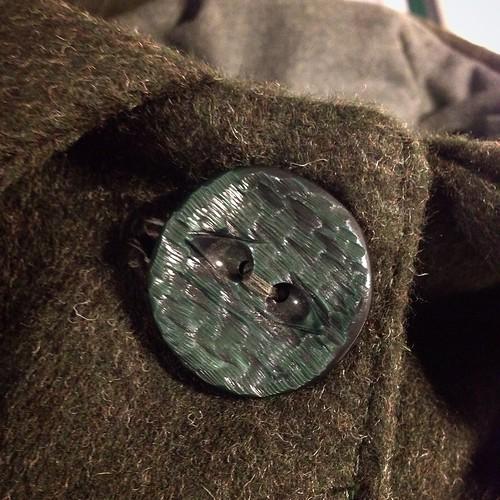 Manteau terminé ! Hâte de le porter :)