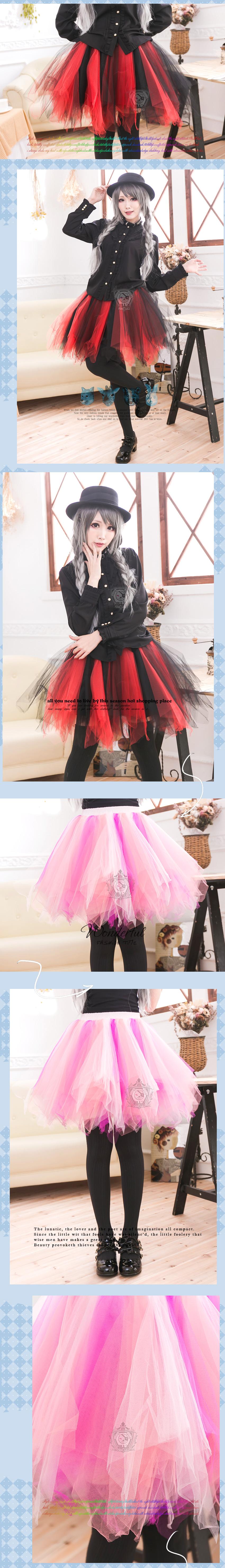 lolita cosplay Phantasy wedding peach multi strand puffy petticoat skirt J2W3002