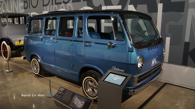 1966 General Motors Electrovan (the first hydrogen fuel cell vehicle)