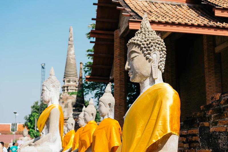 Wat Yai Chai Mongkol @ Ayutthaya