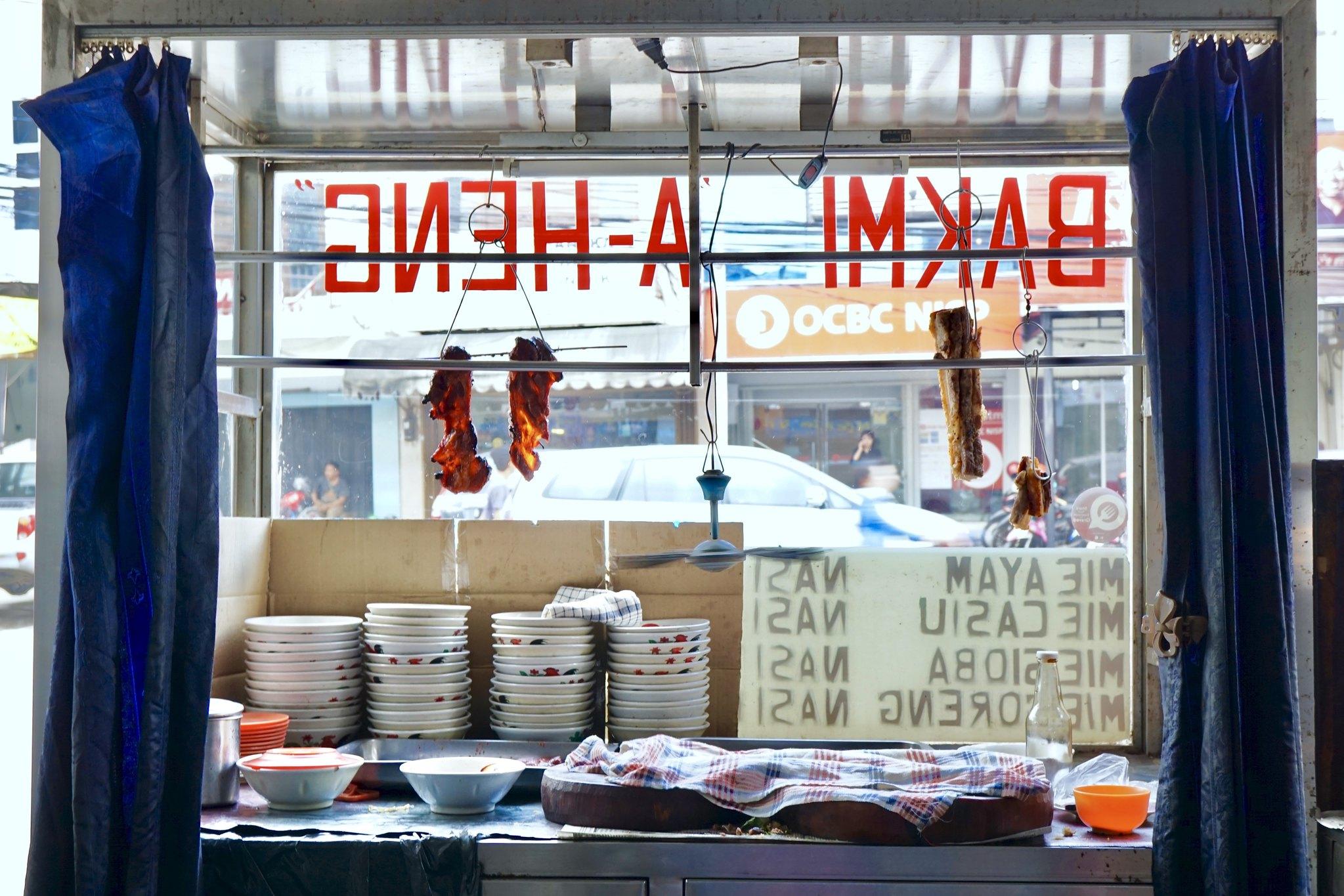 Bakmi Aheng (kitchen view)