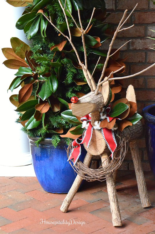 Reindeer-Magnolia Christmas Tree-Housepitality Designs