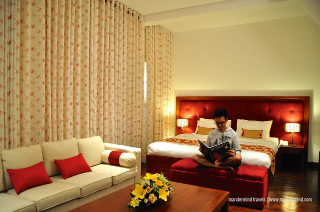 Enjoying the Deluxe Suite at Blue Meadows Nuwara Eliya