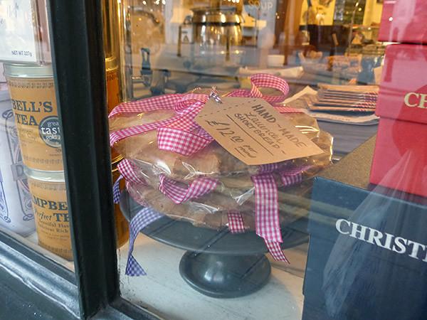 handmade lavender shortbread