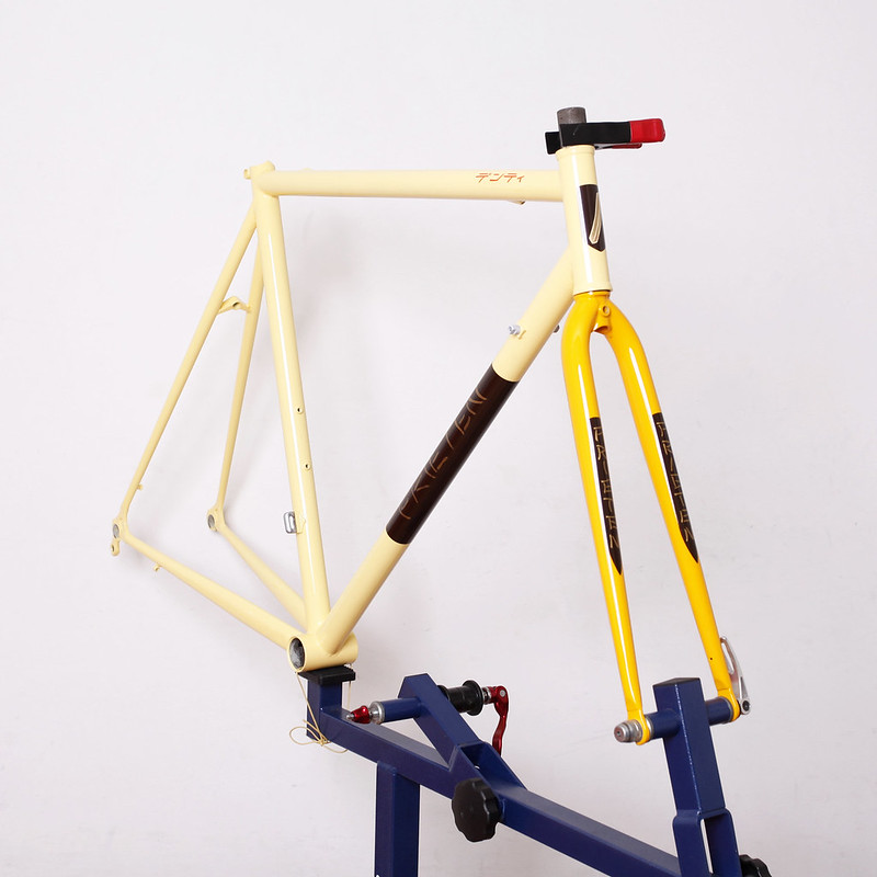 DENTI Steel Frame & Fork Repainted by Swamp Things