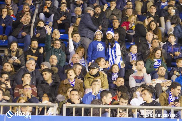 La afición en el Dépor - Betis de Copa del Rey