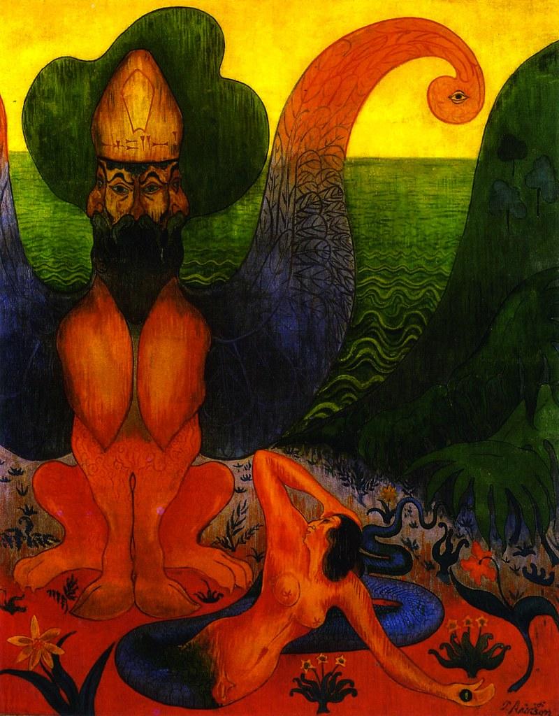Paul Ranson - Hippogriff, 1891