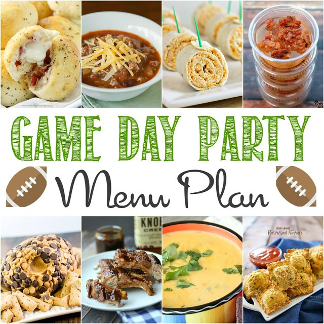 Are you ready for the big game?! Get your grub on with these 13 easy and delicious recipes that will make your Game Day Menu Plan fuss-free!