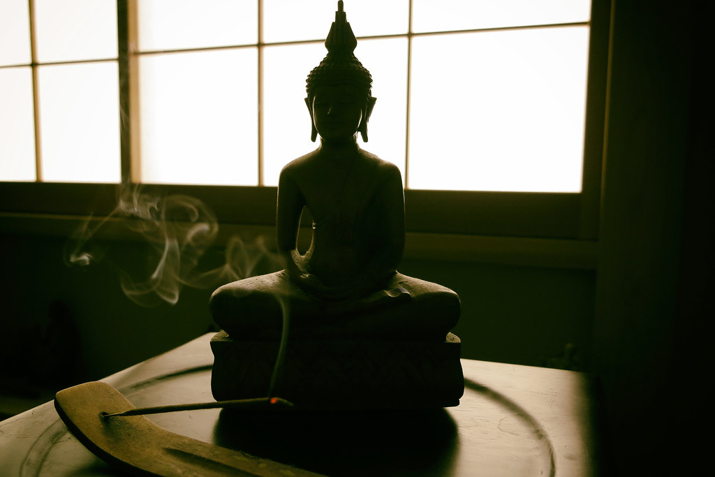 Incense & The Buddha