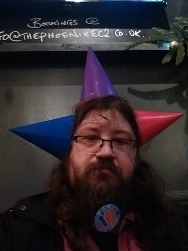 now wearing 3 party hats for #rgl10