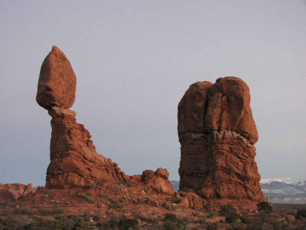 Balanced Rock is real and yes unbelievable.