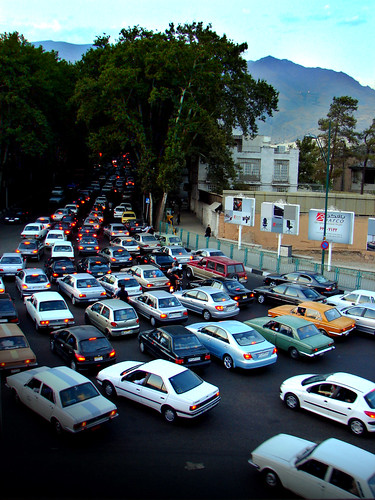 Tehran Traffic Jam | by Hamed Saber
