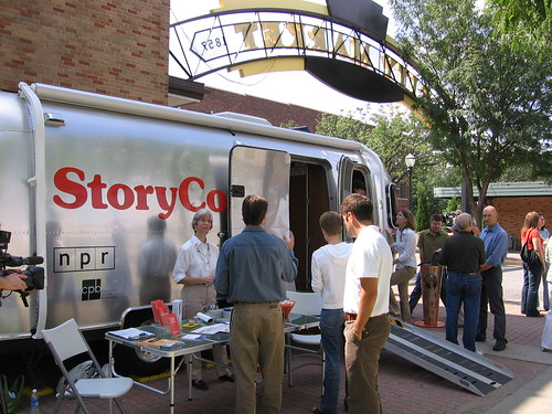 StoryCorps Opening Day, City Market | by Laura Spencer, KCUR