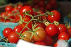 Organic Cherry Tomatoes | by ilovebutter