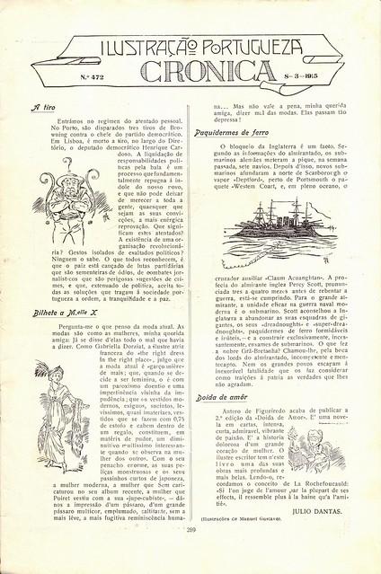 Ilustração Portugueza, nº472, 1915 - 2