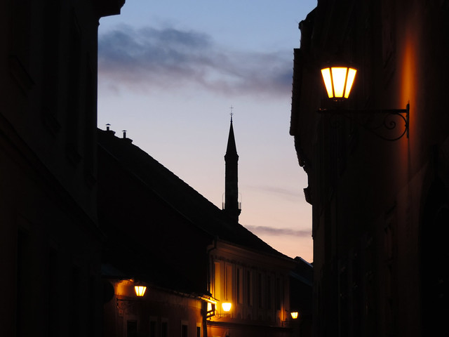 Lamps: Eger, Hungary