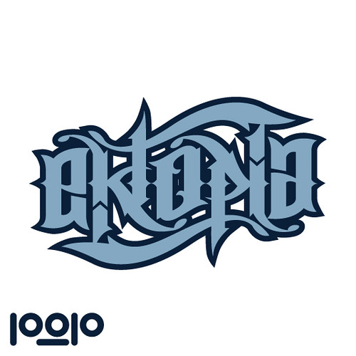 Papper & Penna's Ekoptia Rotational Ambigram | by ektopia
