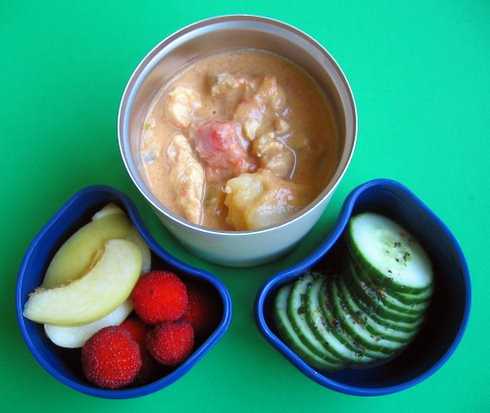 Chicken peanut curry for preschooler | by Biggie*