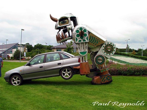 Robot Car Jack | by Paul M Reynolds Photography