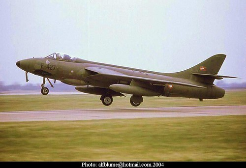 Hawker Hunter F.Mk.51 E-427 No.724 Sqd. RDAF 1973 3