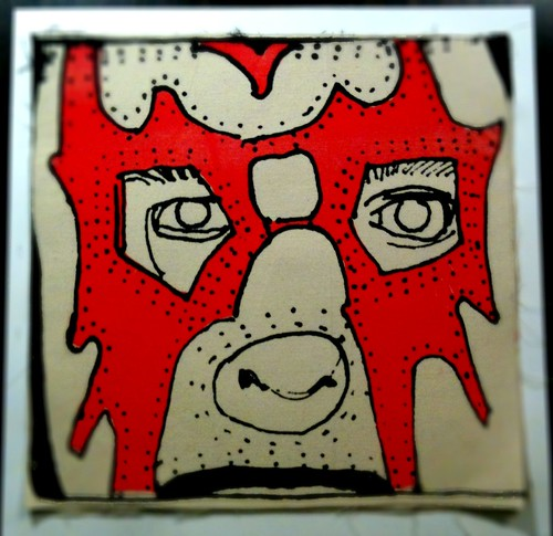 Pete / Red Black Canvas | by Tinymeat PDX