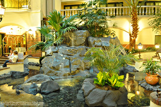 Indoor Garden outside Cork's Irish Pub in Embassy Suites ~ St Paul, MN | by Kristi @ TCRB