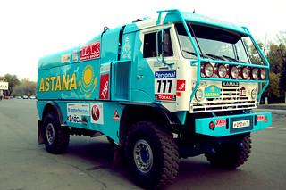 Team Astana Dakar Kamaz | by supernova17