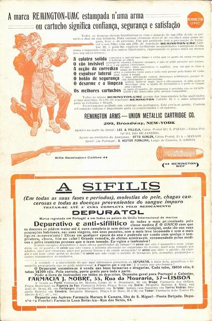 Ilustração Portugueza, No. 465, January 18 1915 - back cover