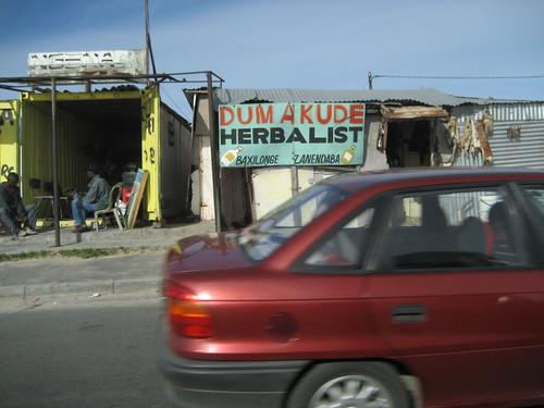 Khayelitsha containers Dumakude herbalist shop