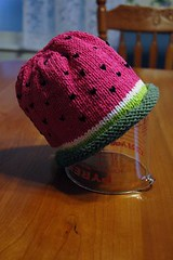 Watermelon Baby Hat | by flyin.needles